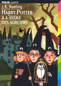 harry potter à l'école des sorcier couverture folio junior