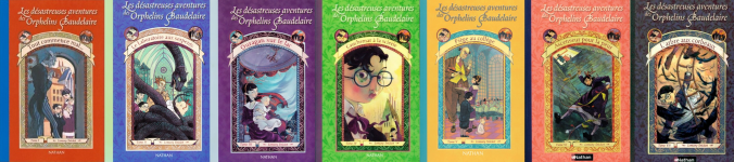 livres orphelins baudelaire lemony snicket nathan