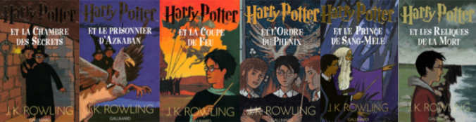 harry potter couverture grands formats