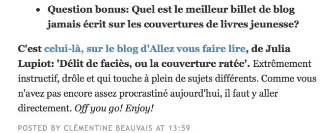 clementine-beauvais-allez-vous-faire-lire-julia-lupiot-delit-de-facies-ou-la-couverture-ratee-meilleur-article-sur-les-couvertures-de-livre