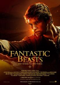 eddie redmayne fanmade poster fantastic beasts