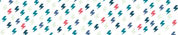 éclairs colorés marque-page harry potter bookmark