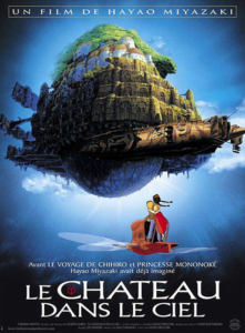le château dans le ciel miyazaki dvd