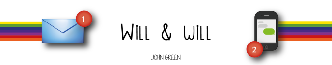 will & will john green marque-page bookmark