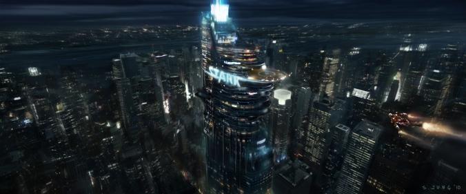 stark tower tony stark iron man avenger
