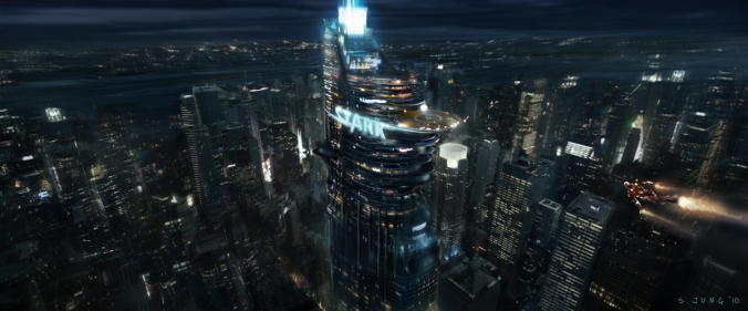 stark tower tony stark iron man avenger