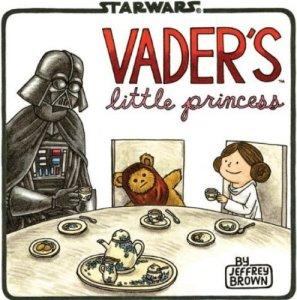 dark vador et sa petite princesse