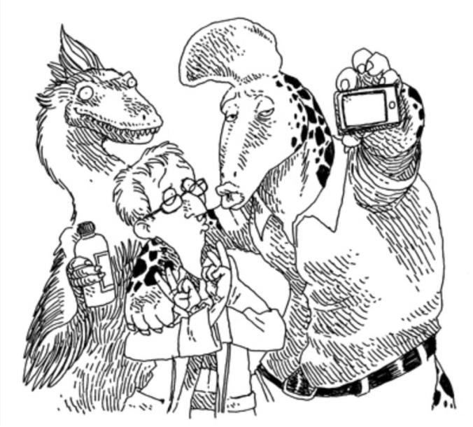 illustrations boulet par bonheur le lait dinosaures
