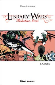 library wars hire arikawa light novel