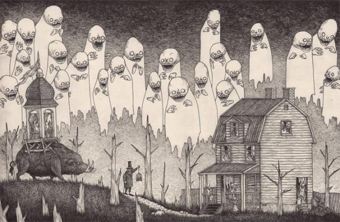 La forêt de monstres