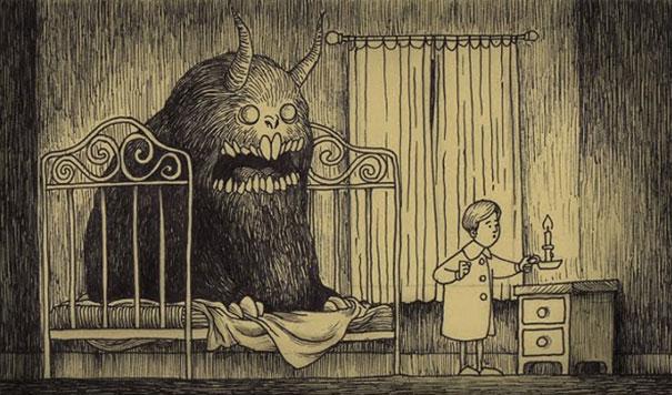 john kenn mortensen monstre lit