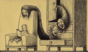 john kenn mortensen monstres tiroir