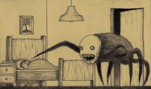 Le monstre-araignée de Mortensen