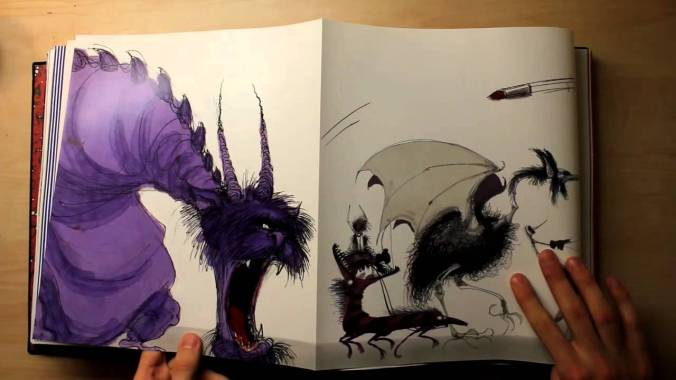 the art of tim burton page