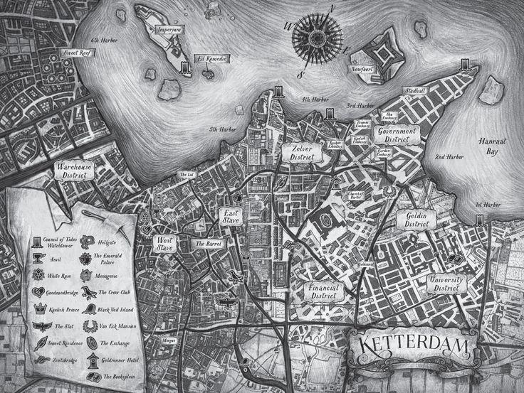 Carte de Ketterdam